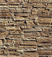 Декоративный камень Baastone Сланец Московский темно-коричневый 103 (400/250/150x90x8-18) -