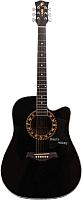 Акустическая гитара Swift Horse WG-413C/BK (черный) -