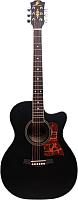 Акустическая гитара Swift Horse TK400C/BK (черный) -