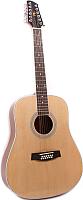 Акустическая гитара Mingde SDG360 12S (натуральный цвет) -