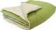 Одеяло Angellini 7с014бл (140x205, зеленый/белый) -