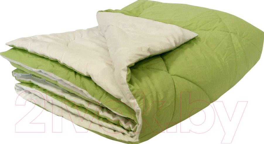 Купить Одеяло Angellini, 7с015бл (150x205, зеленый/белый), Беларусь