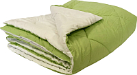 Одеяло Angellini 7с020бл (200x205, зеленый/белый) -
