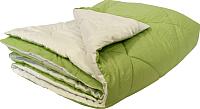 Одеяло Angellini 7с022бл (200x220, зеленый/белый) -