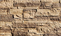 Декоративный камень Baastone Гродненский Грот коричневый/темно-коричневый 103 (400/250/150x90) -