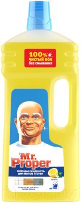 Чистящее средство для пола Mr.Proper Лимон жидкий (1.5л)