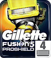 Сменные кассеты Gillette Fusion ProShield (4шт) -