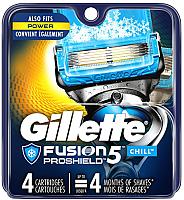 Сменные кассеты Gillette Fusion Proshield Chill (4шт) -