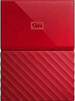Внешний жесткий диск Western Digital My Passport 1TB (WDBBEX0010BRD) -