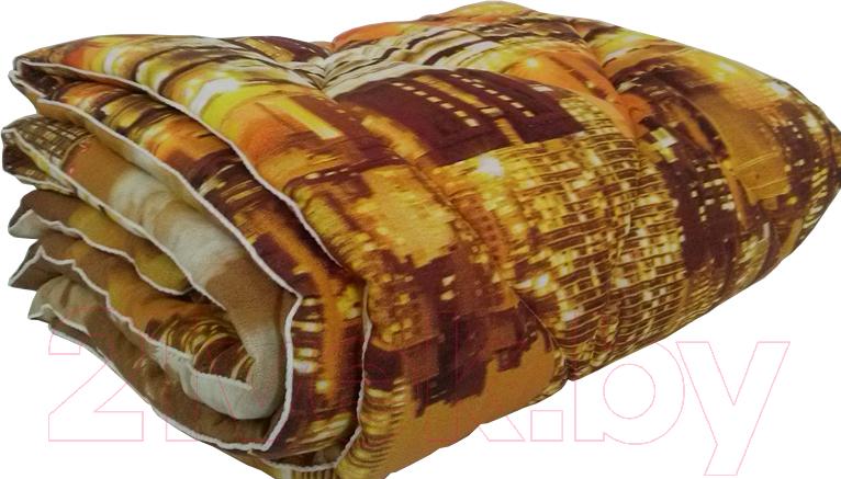 Купить Одеяло Angellini, 3с715о (150x205, город коричневый), Беларусь