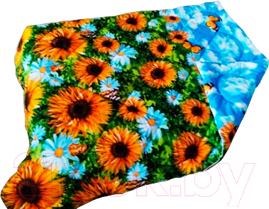 Купить Одеяло Angellini, 9с315о (150x205, подсолнухи), Беларусь