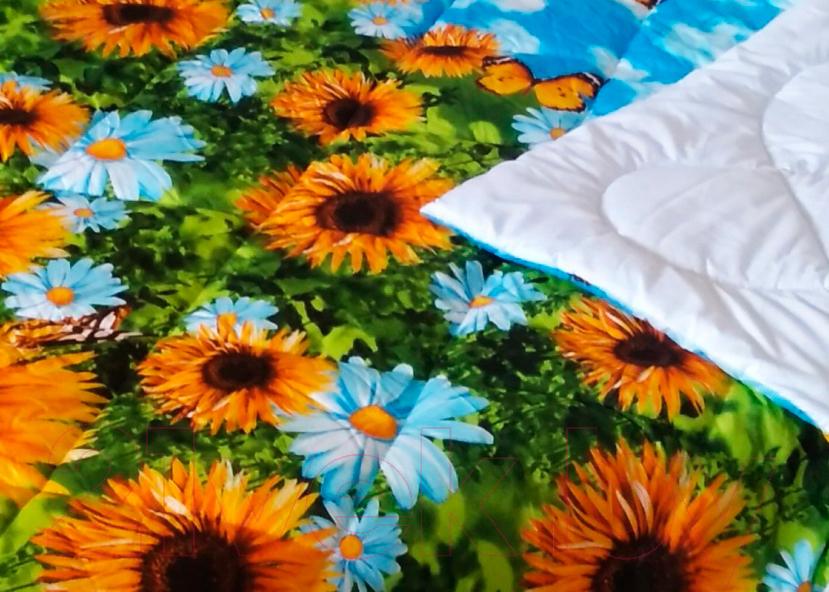 Купить Одеяло Angellini, 7с015дл (150x205, подсолнухи), Беларусь