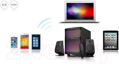 Мультимедиа акустика F&D F580X (черный)