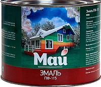 Эмаль Ярославские краски Май ПФ-115 (1.9кг, черный) -