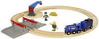 Элемент железной дороги Brio Полицейский транспорт 33812 -