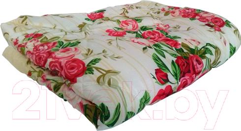 Купить Одеяло Angellini, 5с315п (150x205, желтый/розы), Беларусь