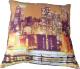 Подушка для сна Angellini 9с3608 38x38 (город коричневый) -