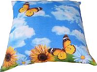 Подушка для сна Angellini 2с47с 70x70 (подсолнухи) -