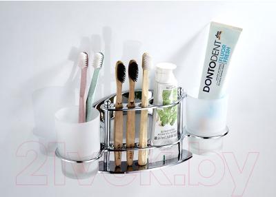Держатель для зубной пасты и щётки Ledeme L101 -