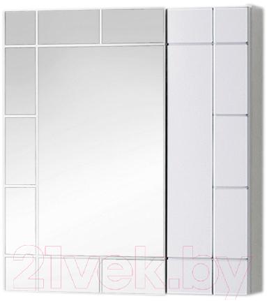 Купить Шкаф с зеркалом для ванной Акваль, Анна 60 / АННА.04.60.00.N, Беларусь