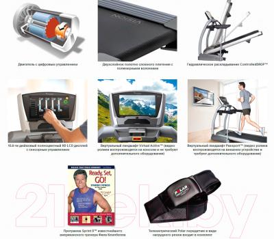 Электрическая беговая дорожка Vision Fitness TF20 Elegant