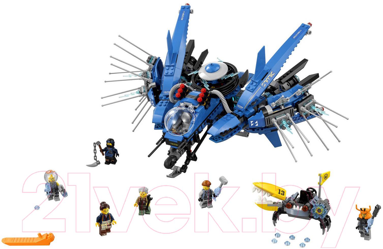Купить Конструктор Lego, Ninjago Самолёт-молния Джея 70614, Китай, пластик