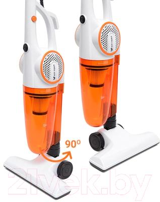 Вертикальный пылесос Kitfort KT-523-1 (оранжевый)