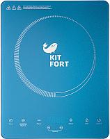 Электрическая настольная плита Kitfort KT-110-2 (синий) -