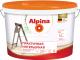 Краска Alpina Практичная интерьерная (900мл, белый) -