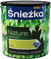 Краска Sniezka Nature 131T Зеленый Чай (2.5л, матовый) -