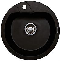 Мойка кухонная Lava R3 Lava (чёрный металлик) -