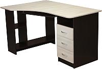 Компьютерный стол Мебель-Класс Престиж (венге/дуб шамони, правый) -