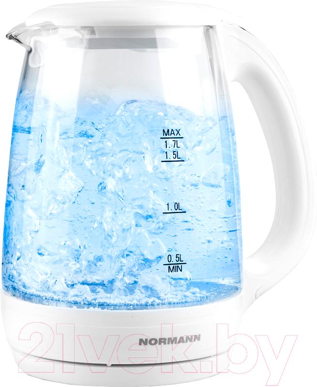 Купить Электрочайник Normann, AKL-233, Китай, белый