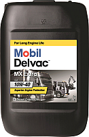 Моторное масло Mobil Delvac MX Extra 10W40 / 152673 (20л) -