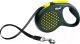 Поводок-рулетка Flexi Design 5m (M, желтый, ременной) -