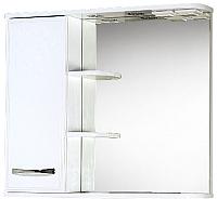 Шкаф с зеркалом для ванной Акваль Виола 80 / AV.04.80.00.L -