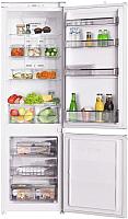Встраиваемый холодильник Maunfeld MBF.177NFW -