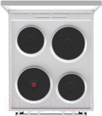 Плита электрическая Gorenje E5121WH-B