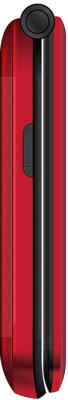 Мобильный телефон Texet TM-B216 (красный)