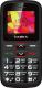 Мобильный телефон Texet TM-B217 (черный/красный) -