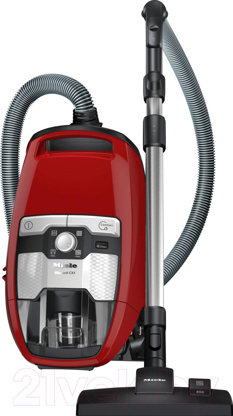 Купить Пылесос Miele, SKRR3 Blizzard CX1 Red PowerLine (красный), Германия