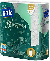 Бумажные полотенца Grite Blossom (2 рулона) -
