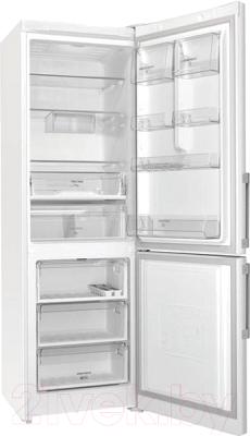 Холодильник с морозильником Hotpoint-Ariston HS 5181 W