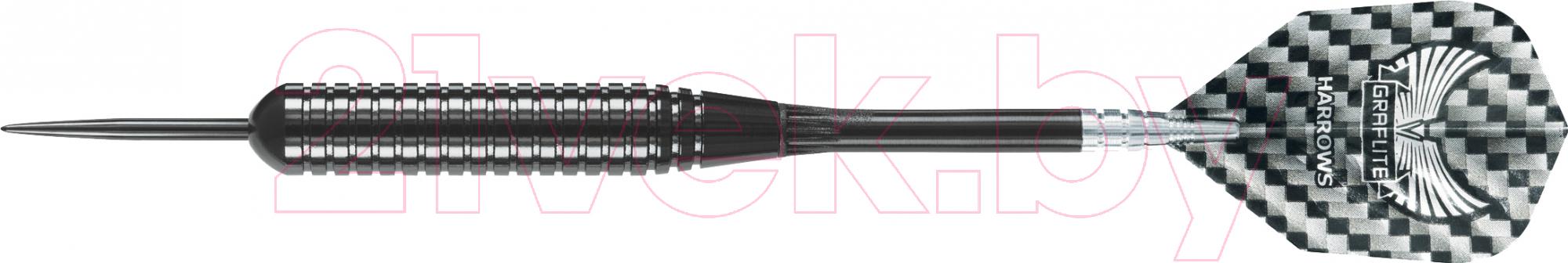Купить Дротики для дартса Harrows, Black Arrow 3x26gR, Великобритания