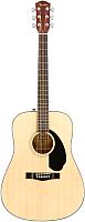 Акустическая гитара Fender CD-60S Natural -