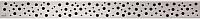Решетка для трапа Alcaplast Buble-550L -