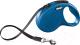 Поводок-рулетка Flexi New Classic ремень (L, синий) -