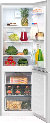 Холодильник с морозильником Beko RCNK270K20S