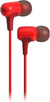 Наушники-гарнитура JBL E15 / JBLE15RED (красный) -