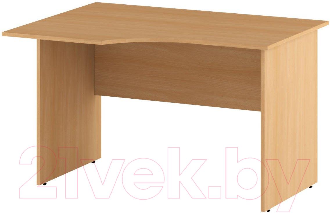 Купить Письменный стол Славянская столица, С-1-12 (левый, бук), Беларусь